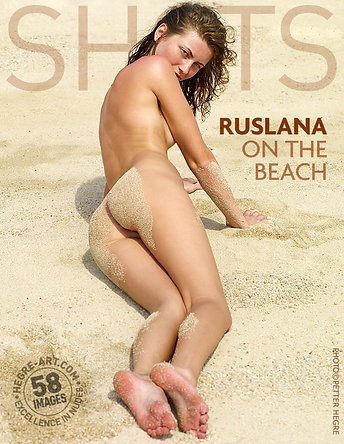 Ruslana en la playa
