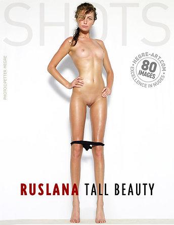 Ruslana tall beauty