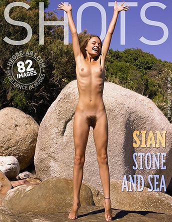 Sian stone and sea