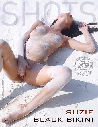 Suzie black bikini