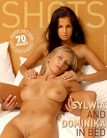 Sylwia and Dominika in bed