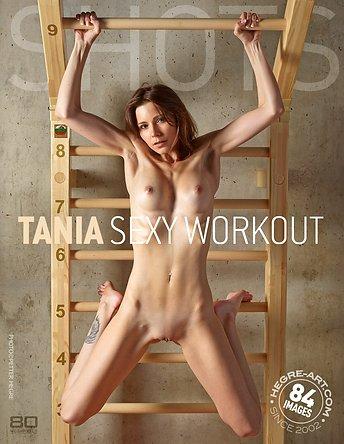Tania sexy workout