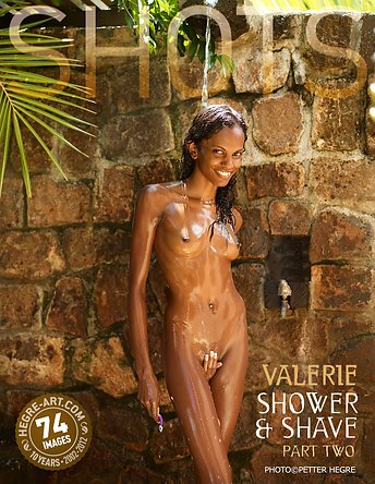Valerie shower and shave part 2