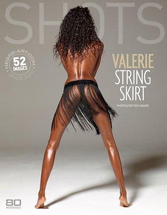 Valerie string skirt