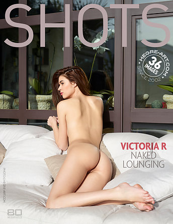 Victoria R naked lounging by Jon