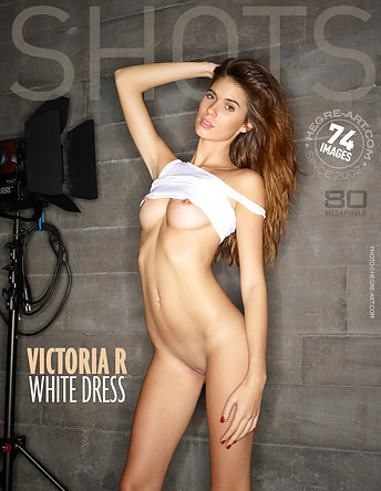 Victoria R white dress by Jon