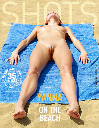 Yanna on the beach
