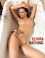 Elvira bathing