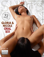 Gloria and Nicole oral sex