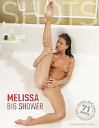 Melissa big shower