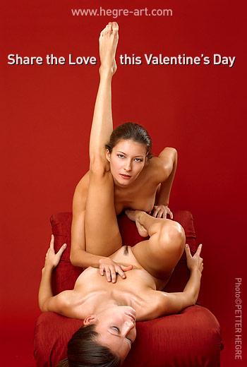 E-Carte : La Saint-Valentin Ecarte