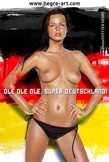 Postal-E: Copa FIFA 2010 Alemania Postal