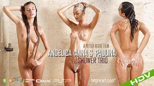 Angelica Anna S Paulina Shower Trio