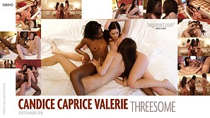 Candice Caprice Valerie Threesome