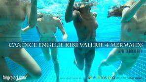 Candice Engelie Kiki Valerie 4 Meerjungfrauen