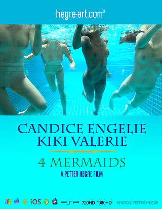 Candice Engelie Kiki Valerie 4 Mermaids