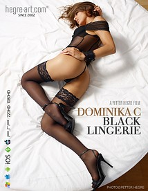 Dominika C Black Lingerie