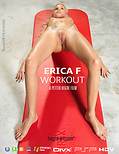 Hegre's nude girls – Erica F Workout