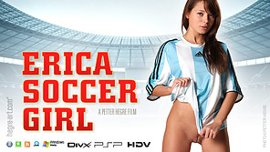Erica Fußball-Mädchen