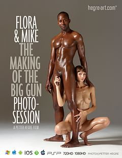 "Flora And Mike - The Making Of ""The Big Gun"" Photosession"