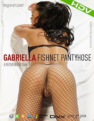 Gabriella Netzstrumpfhose