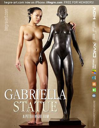 Gabriella Statue