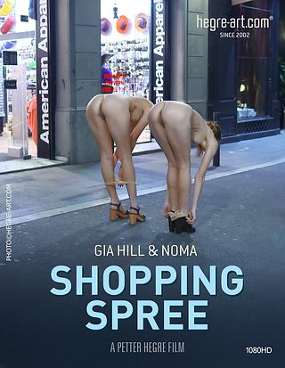 Gia Hill And Noma American Apparel Shopping Spree