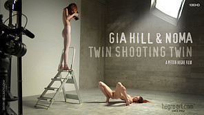 Gia Hill And Noma Twin Shooting Twin