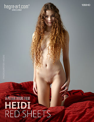 Heidi Red Sheets