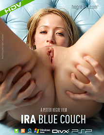 Ira Blue Couch
