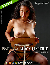 イザベラ 黒のランジェリー