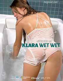 クララ 濡れて濡れて