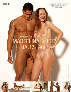 Marcelina And Leo Backstage