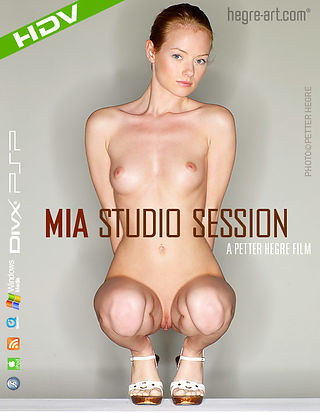 Mia Studio Session