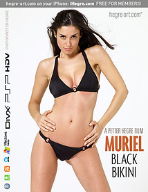 Muriel Black Bikini
