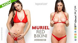 Muriel Red Bikini