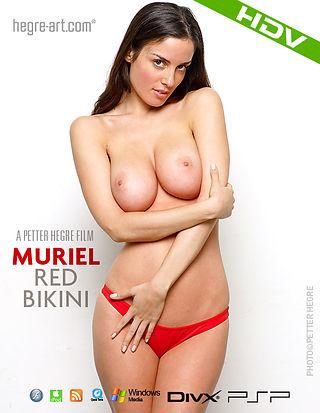 Muriel Roter Bikini