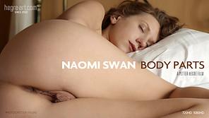 Naomi Swan Körperteile