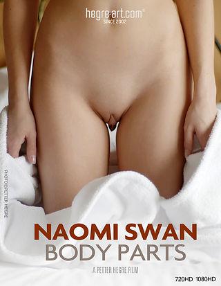 Naome Swan partes corporales