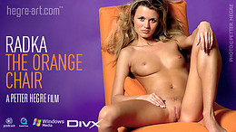 Radka - The orange chair