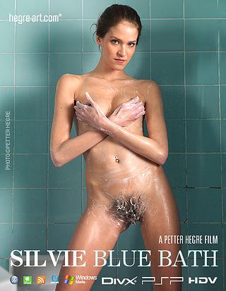 Silvie Blue Bath