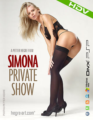 Simona Private Show