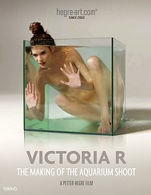 Victoria R Die Produktion des Aquarium Shootings