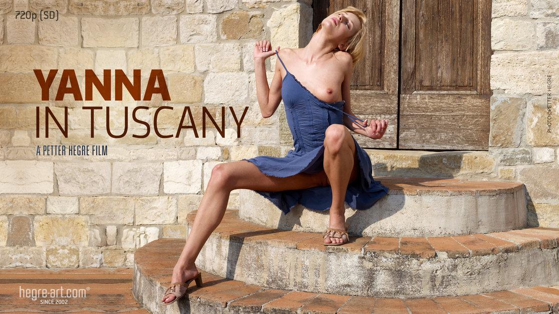 Yanna en Toscane