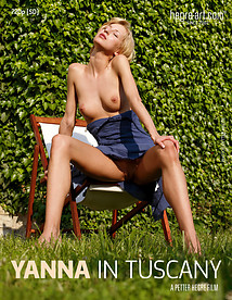 Yanna en la Toscana