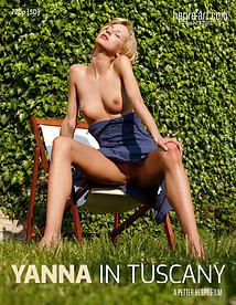 Yanna in Tuscany