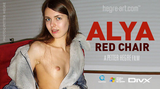 Alya red chair