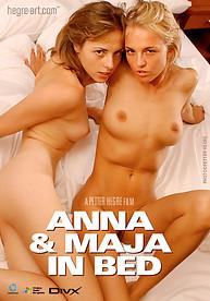 Anna & Maja in bed