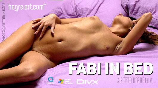 Fabi im Bett
