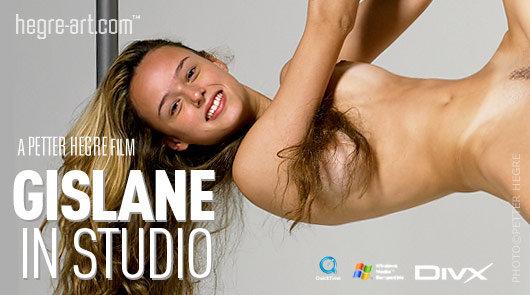 Gislane im Studio